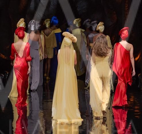Diseñadora Pilar Sáinz se tomó el primer día del Fashion Week. Día a Día