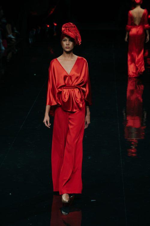 Conjunto pantalón rojo