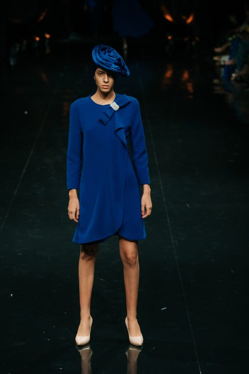 Levita mujer color azul
